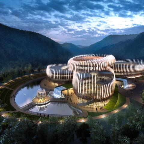 Joe Lalli Narada Resort Hotel<br>莫干山郡安里度假区酒店主楼设计- 中国浙江
