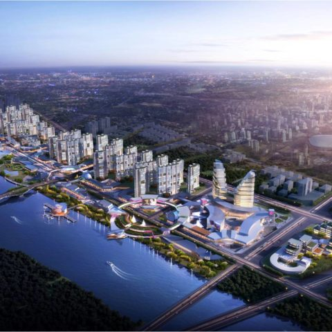 Fuyang River Front Mixed Development Master Plan<br>阜阳河岸综合开发区整体规划
