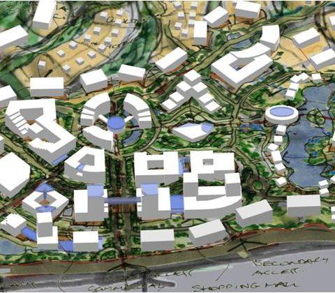 He Kou New Town Master Plan<br>陆河河口新镇总体规划