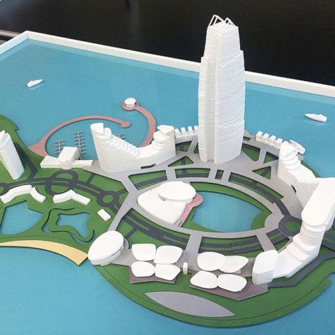 Zhong Hui Haikou Bay Hulu Island<br>中汇海口湾葫芦岛东区项目概念性方案- 中国海口