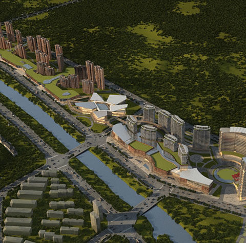 Jin Zhai Mixed Development Master Plan<br>安徽金寨(综合体)