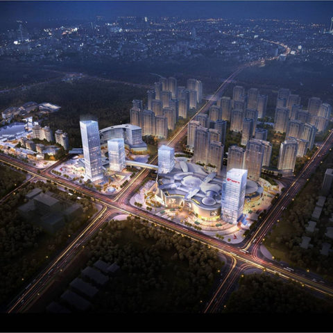 Leiyang Mixed Development Master Plan<br>铜锣湾广场耒阳中心综合项目